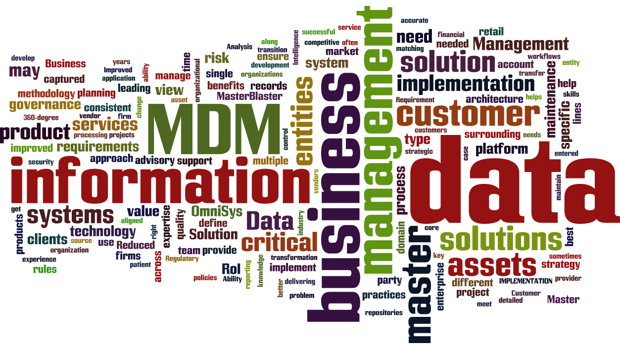 12 master data management  mdm  cloud words infographic  u2013 tech talk