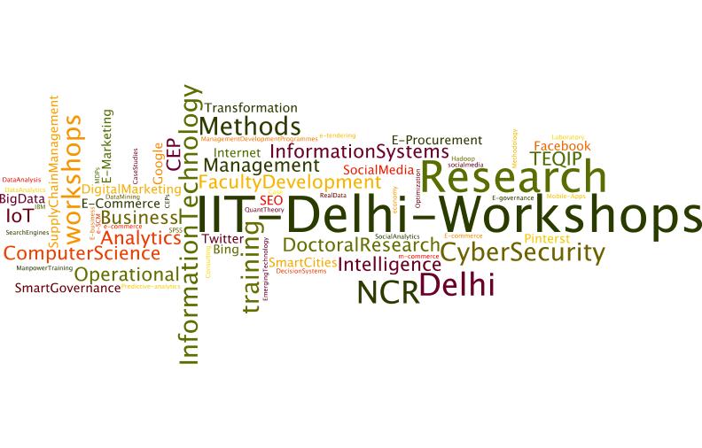 Programmes @ IIT Delhi (1/2)