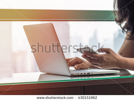 stock-photo-vintage-style-city-lifestyle-woman-hands-working-on-computer-typing-laptop-keyboard-using-iot-it-430151962