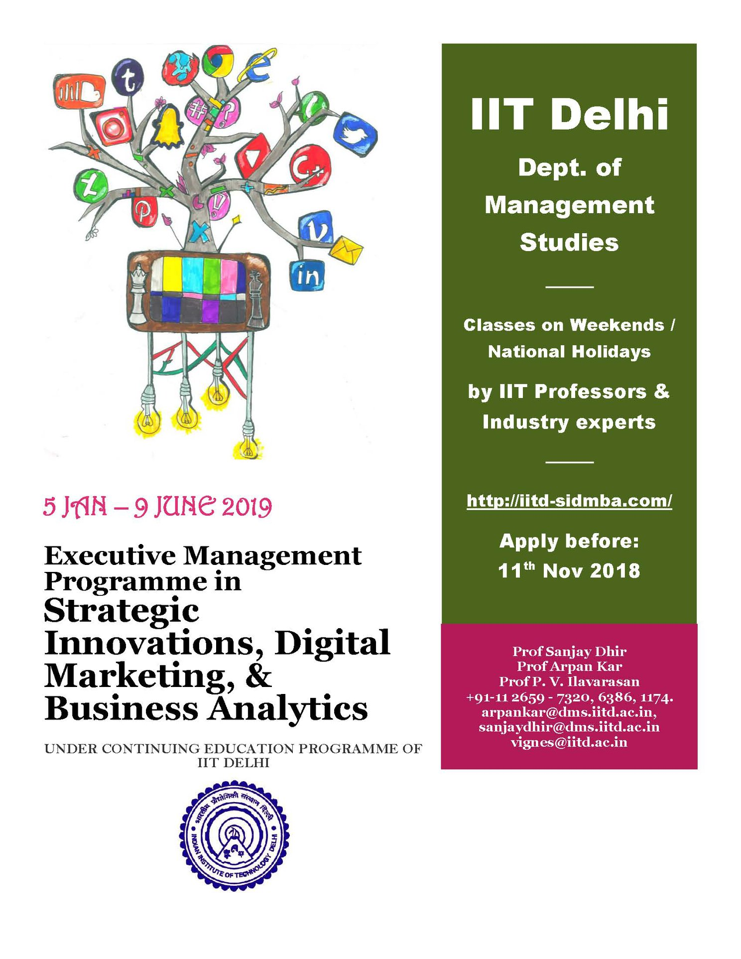 2019 Emp In Strategic Innovations Digital Marketing Business